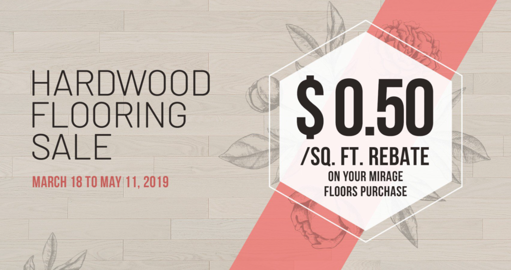 Mirage Hardwood Flooring Sale – David's Flooring